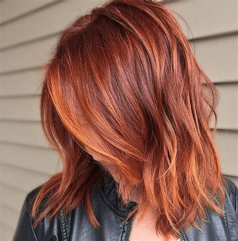 red hair orange highlights picture 2