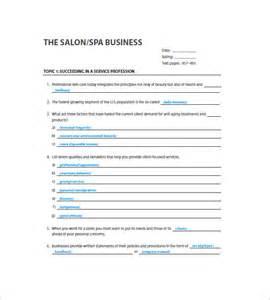 free online hair salon business plans picture 14