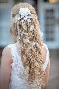 bridal hair styles with flowers picture 5