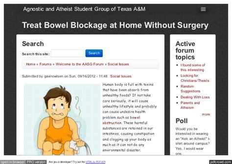 blocked colon symptoms picture 3