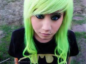 green hair dye picture 14