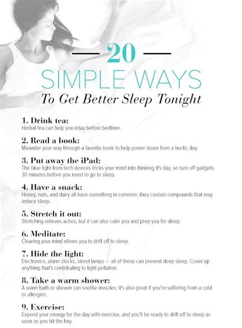 ways to get to sleep picture 2