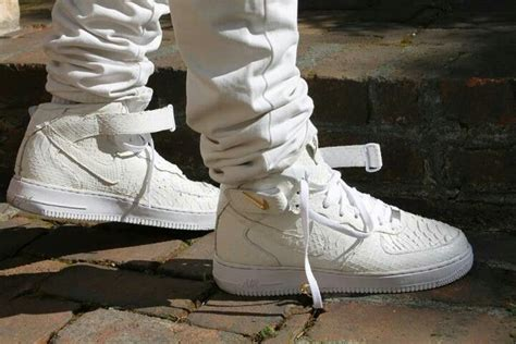 air force 1 mid skin snake picture 3