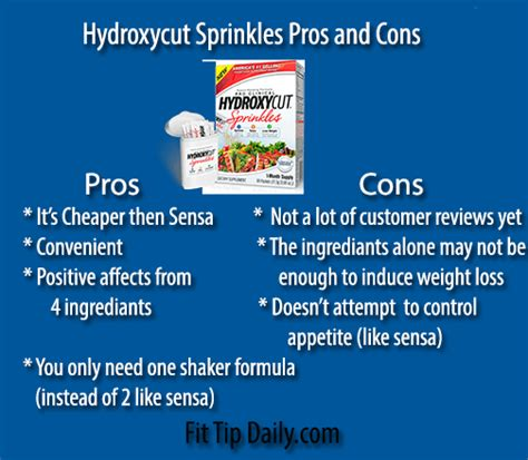 reviews on hydroxycut sprinkles picture 2