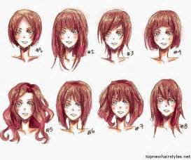 anime hair styles picture 1