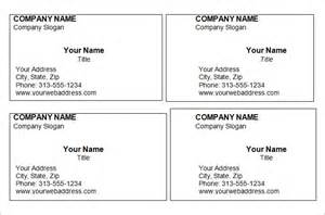 free printable online business cards picture 6