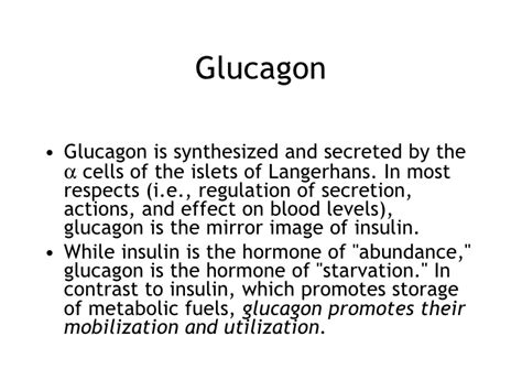 affects of aging on the glucagon picture 1