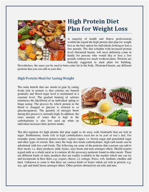 high protein diet and weight loss picture 1