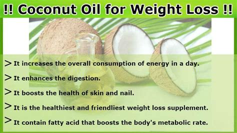 weight loss and cocoanut oil picture 1
