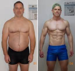 men weight loss before and after picture 10