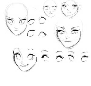 sculpt face nose eyes lips tips tutorial picture 7
