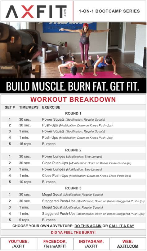 fat burning workout routines picture 1