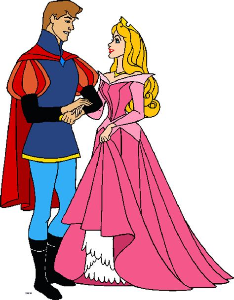 free sleeping beauty clip art picture 9