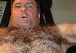 shirtless hairy men over 50's picture 5