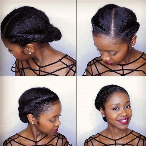 easy blk hair styles picture 2