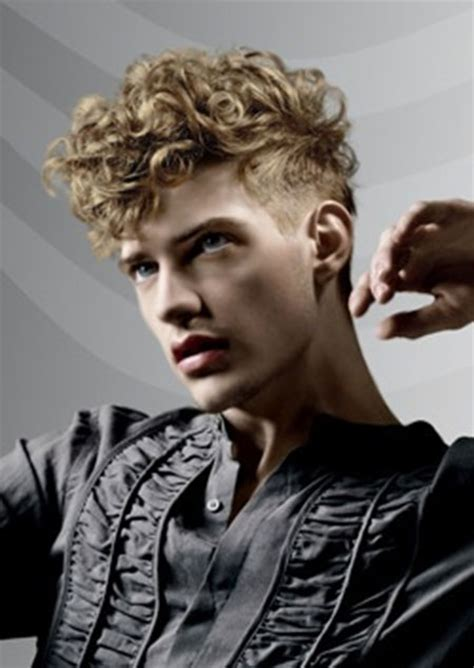 man with blonde curly hair picture 7