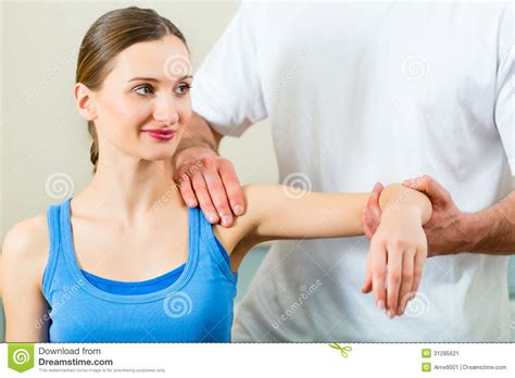 female medical student giving physical picture 9