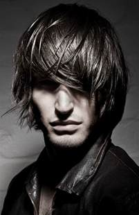 picture of men's long hair picture 1