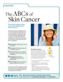 abcs of skin cancer picture 1