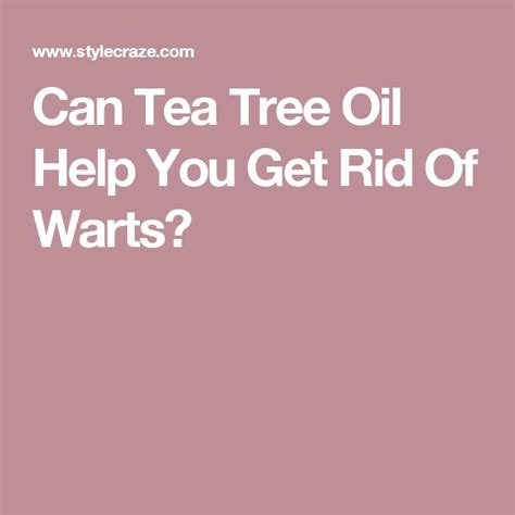tea tree oil genital warts burning smell picture 10