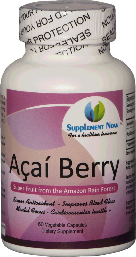 acai berry supplement facts picture 5