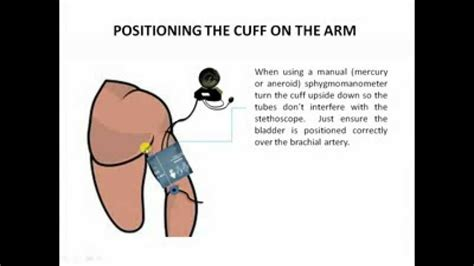 Correct method to take a blood pressure picture 7