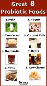 probiotic food list picture 6