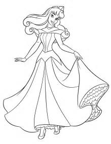 coloring pages sleeping beauty picture 6