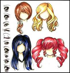 anime hair color picture 2