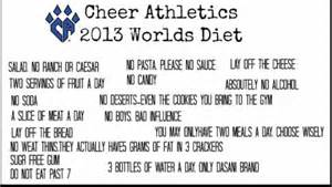 cheerleader diet picture 3