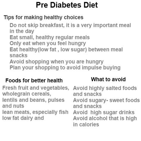pre diabetic diet picture 2