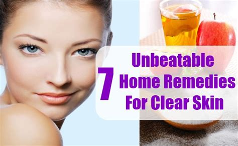 clear skin home remedies picture 3