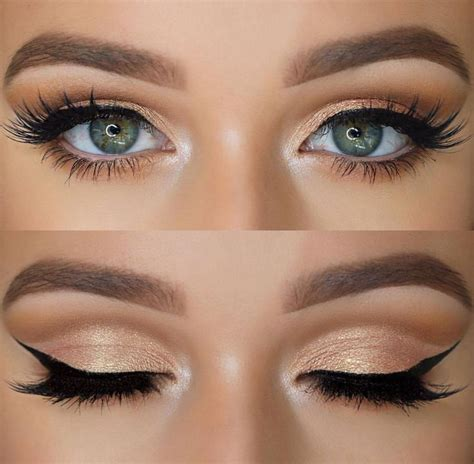 makeup for light skin gold picture 7