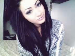 Girls with black hair picture 5