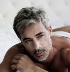 men's short grey hair picture 2