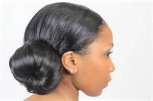 black hair buns picture 10
