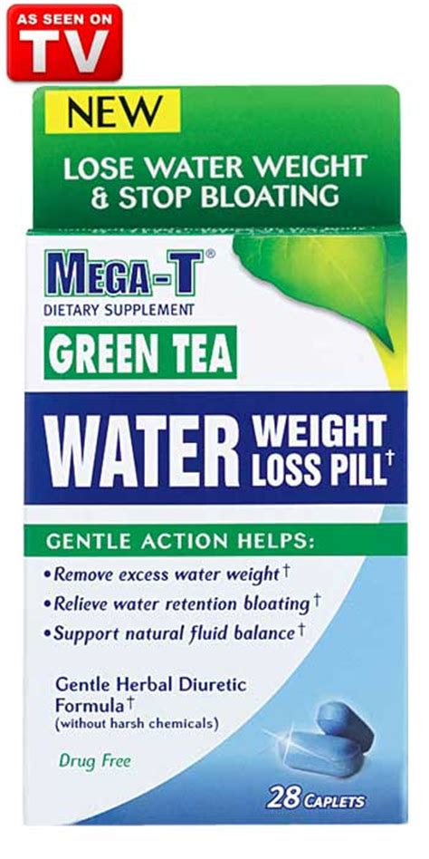 3 of mega-t green tea water pill -- picture 1