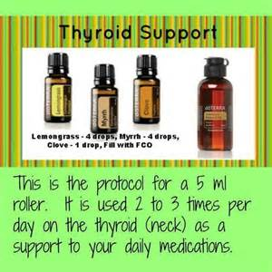 thyroid cycst and essential oils picture 5