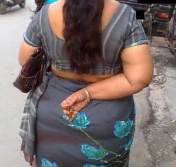 south indian homely aunties side view and back picture 3