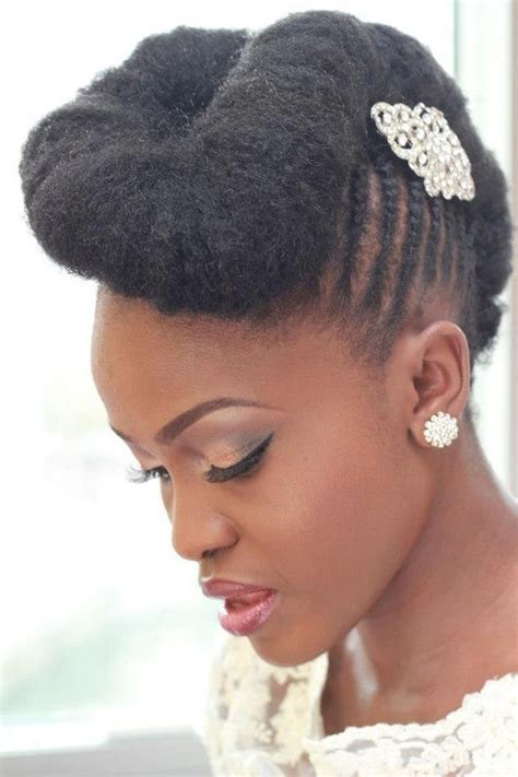 black hair wedding style picture 2