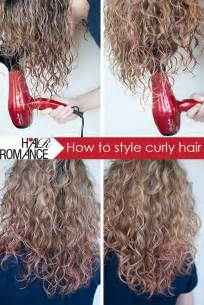 how to style curly hair picture 2