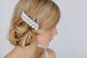 crystal flower hair clips picture 7