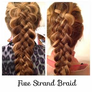 5 stranded braid hair picture 9