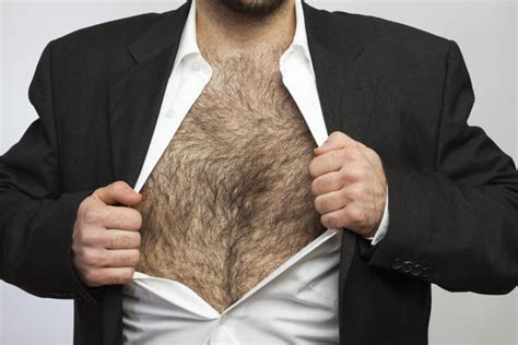stop hair growing your chest picture 3