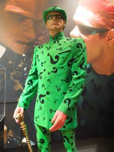 jim carrey's the riddler's costume penis picture 2