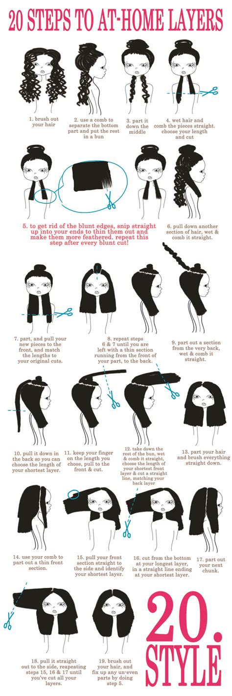 how to cut layers in long hair picture 6