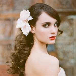 bridal hair styles with flowers picture 11