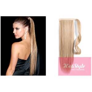 human hair pony tails picture 5