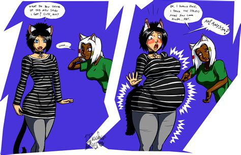 anime belly and breast expansion picture 11
