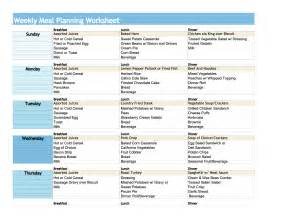 diet plan worksheets picture 3